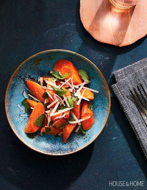 Carrot And Radish Salad Radish Salad Hearty Meals Roasted Beet Salad