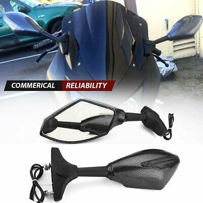 Chromed Blade Mirrors For Kawasaki Vulcan Honda Rebel Shadow Yamaha R1 R6 Cruiser