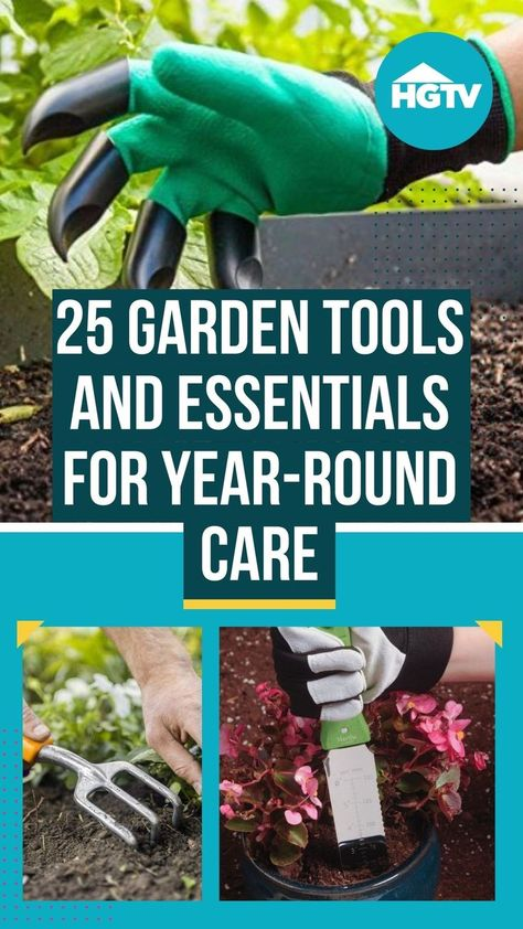When you're ready to grow, use our shopping list to find great garden tools, gear and more. 🌱 We've rounded up our favorite garden tools — for spring 🌷 and all-year-round that'll help you create the garden of your dreams. 🏡