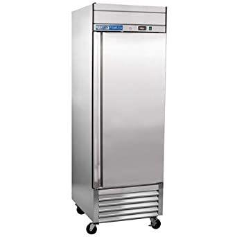 Kratos Refrigeration 69k 759 1 Door Reach In Refrigerator 21 Cu Ft In 2020 Aluminum Shelves Commercial Freezer Solid Doors