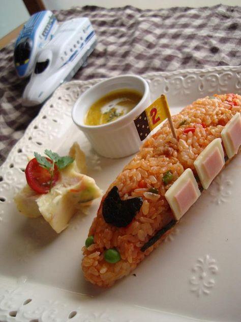 2歳のお誕生日パーティーアイデア フードに新幹線 2歳 誕生日 料理 誕生日 料理 食品と飲料
