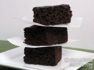 Old Fashioned Gingerbread -- gluten-free, dairy-free