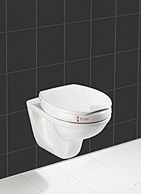 Wenko 21905100 Wc Sitz Secura Comfort Mit 5 Cm Sitzerhohung Und