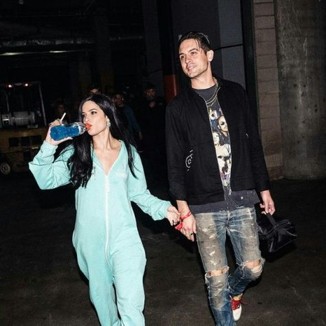 I feel like Halsey is the only person confident enough to be our and about in this onesie 😂😂😂