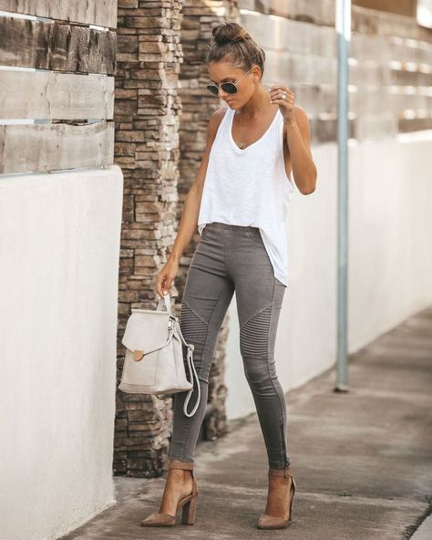 Click to shop our website or follow us at @VICIDOLLS for all the latest updates + fashion inspo! Piper Jegging - Dark Grey