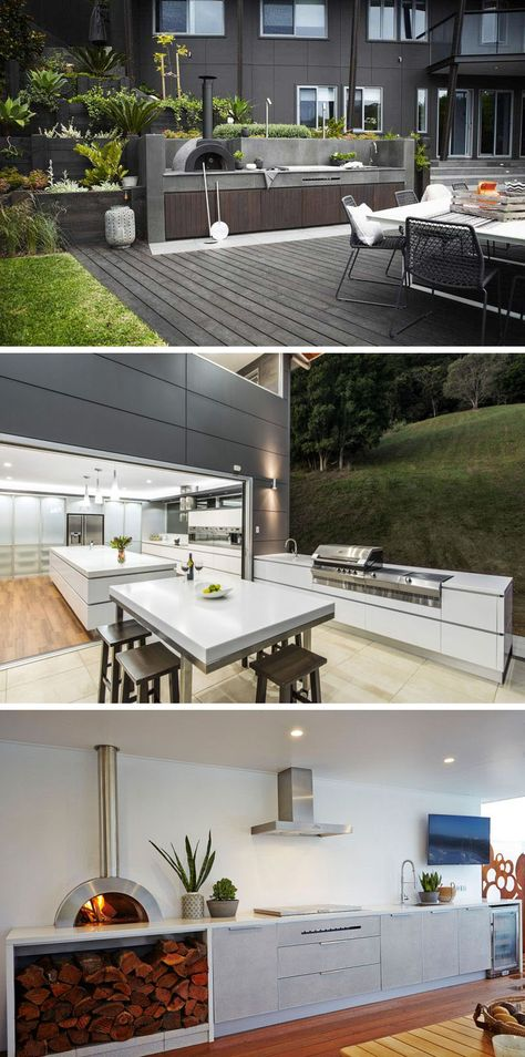 7 Outdoor Kitchen Design Ideas For Awesome Backyard Entertaining | Oven,  Meals and Ranges