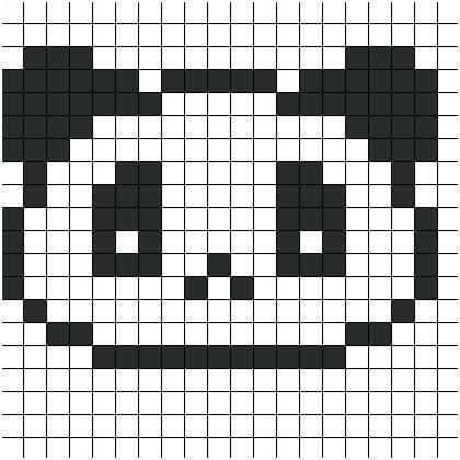 Dessin Pixel A Imprimer