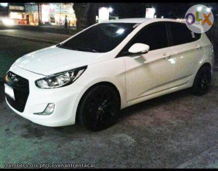 Bridal Car For Rent Hyundai Accent 2014 At Hyundai Accent Car