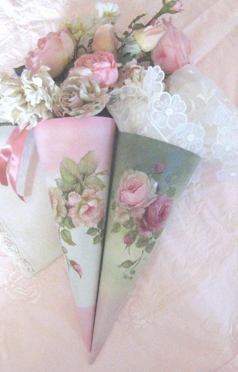 Beautiful rose paper