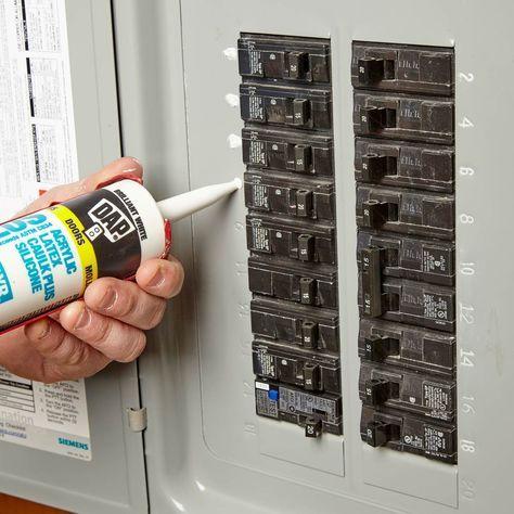 Easy To Read Circuit Breakers Diy Electrical Home Electrical Wiring Diy Home Repair