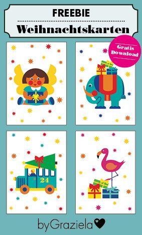 Weihnachtskarten Ausdrucken Vorlagen.Weihnachtskarten Zum Downloaden Kostenlose Vorlagen Zum Ausdrucken