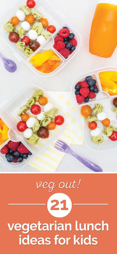 Veg Out! 21 Vegetarian Lunch Ideas for Kids | thegoodstuff