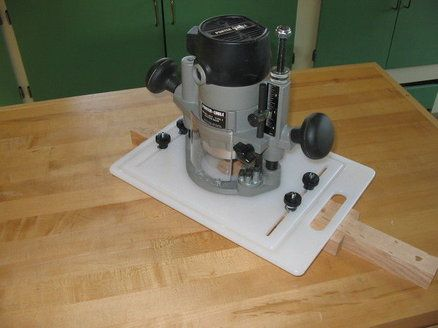 Router table insert material image collections wiring table and router mortising jig very smart use of plastic cutting board router mortising jig very smart use greentooth Gallery