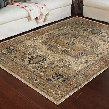 Rockford Rug Collection Heriz Medallion 100 Olefin Stain