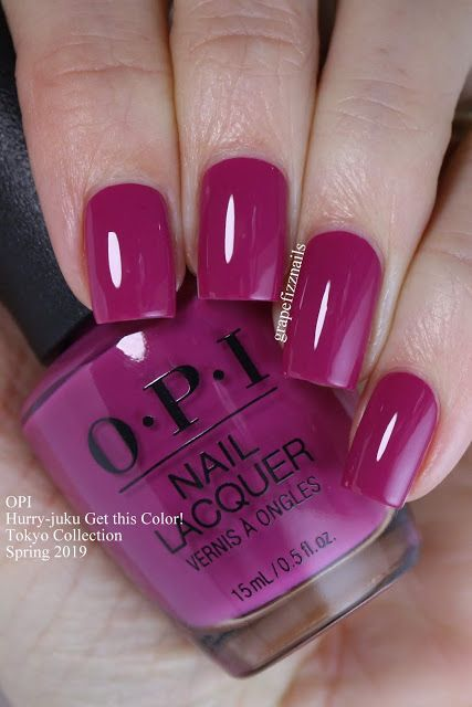 Opi Tokyo Collection Spring 2019 Swatches And Review Spring