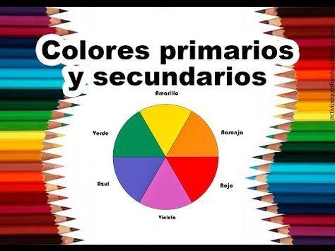 Teoria Del Color Cap 2 Colores Primarios Y Secundarios Youtube Colores Primarios Y Secundarios Colores Primarios Combinacion De Colores Primarios
