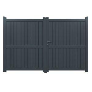 Fabrication Portail Coulissant Fer En 2020 Porte D Entree Portes De Garage Moderne Portail