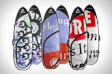 Rareform Surfboard Bags ($120-$175)  Protect your board and