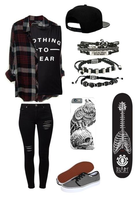 A fashion look from July 2016 featuring shirt top, plaid top and slim jeans. Browse and shop related looks. Cute Emo Outfits, Bad Girl Outfits, Scene Outfits, Teenage Girl Outfits, Punk Outfits, Teen Fashion Outfits, Teenager Outfits, Casual Summer Outfits, Retro Outfits