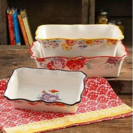 Pioneer Woman Garden Meadows Bakeware Set Pioneer Woman Kitchen