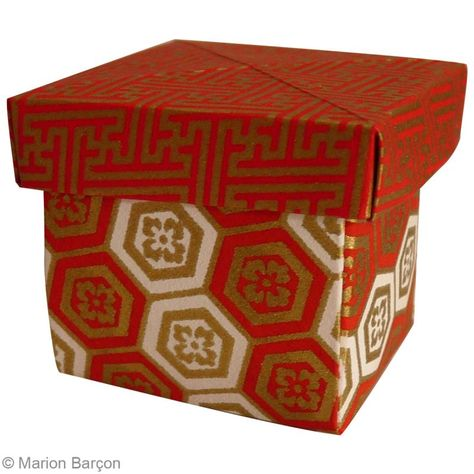 Boîte Avec Couvercle En Origami Tuto Facile Idées Conseils Et