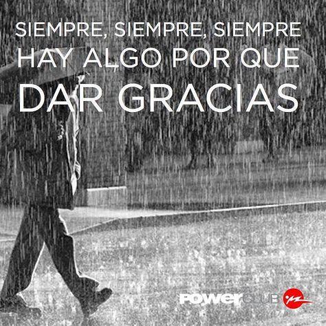 Siempre demos gracias #Feliz #Domingo con o sin lluvia @powerclubpanama #YoEntrenoEnPowerClub