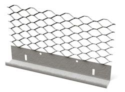 metal lath plaster. #66x expanded flange casing bead   clarkdietrich building systems metal lath plaster