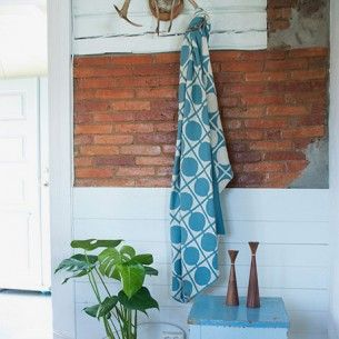 Don Decke Blau Home Textile Blanket Contemporary Design