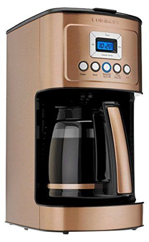 Cuisinart Perfectemp 14 Cup Programmable Coffeemaker Copper Reviews Coffee And Tea Coffee Tools Coffee Accessories Buymorecoffee Com Coffee Maker Copper Kitchen Best Coffee Maker