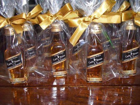 Lembrancinha Personalizada Mini Bebida - Garrafinha na Caixinha ou no Baldinho