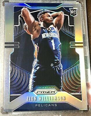 2019 20 Panini Prizm Silver Zion Williamson Rookie Rc 248 Psa 10 Gem Mint Amazing Over 1500 In 2020 Basketball Cards Nba Today Baseball Cards