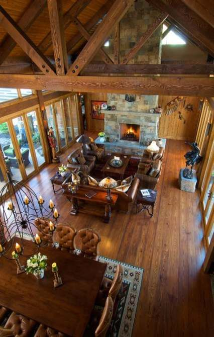 Rustic Living Room Furniture Log Cabins Floor Plans 23 Ideas Rustic Living Room Design Rustic House Timber House