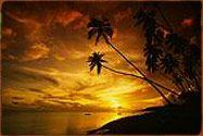 Sunset on the Island of Molokai!