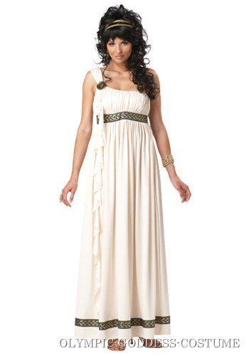 Imperial Goddess Ladies Fancy Dress Ancient Roman Greek Womens Adult Costume New