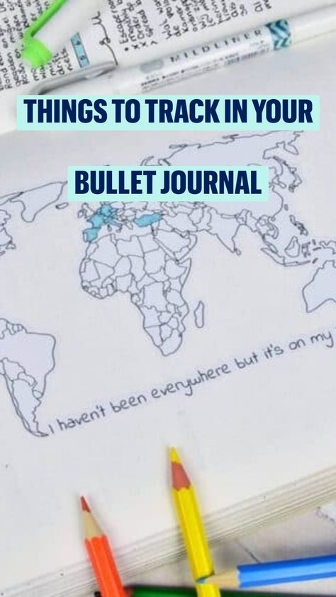 Bullet Journal Tracker Ideas
