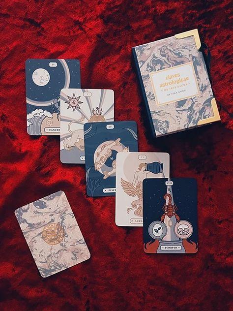 Claves Astrologicae de Iris Sacra: Astrology Oracle Deck – Labyrinthos