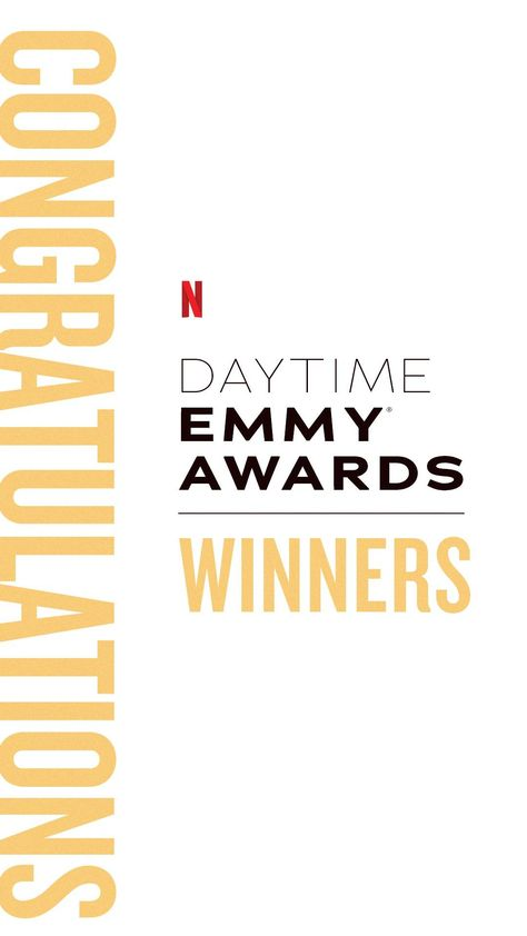 Congrats to our 2021 Daytime Emmys Awards winners!