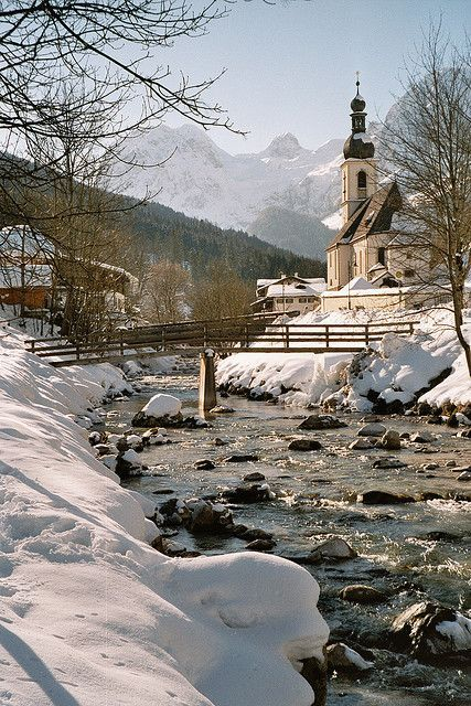 Winter in Ramsau, Bavaria, Germany (by MRP46).
