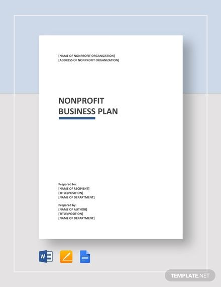 Instantly Download Nonprofit Business Plan Template Sample Example In Microsoft Word D Business Plan Template Word Business Plan Template Business Planning