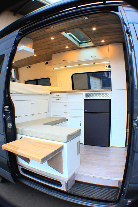 Germaine Freedom Vans Van Life Sprinter Camper Campervan Interior