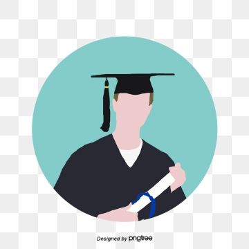 Master Graduate Icon Icon Vector Cartoon Flat Png And Vector