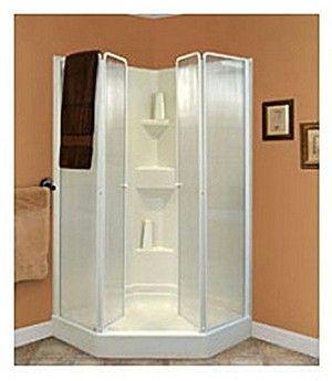 D40wcw Lyons Shower Door Trackless Foldable Door Toilet Shower