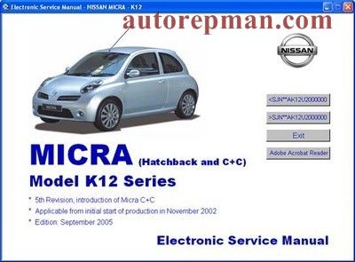 Nissan Micra Haynes Manual Pdf Nissan Nissan Almera Hatchback
