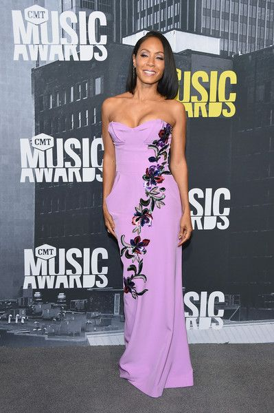 Jada Pinkett Smith - Every Look on the CMT Music Awards Red Carpet - Photos