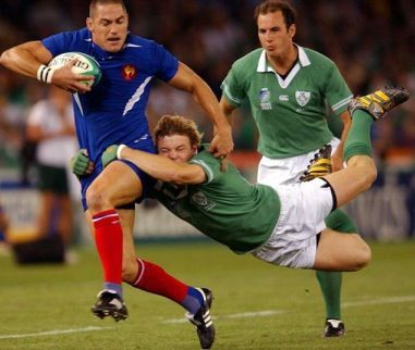 Brian O'Driscoll tackle v France - One of the most important skills needed in the sport of rugby is knowing how to tackle. If you are able to successfully tackle another.