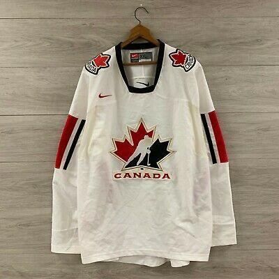 2006 Team Canada Nike Iihf Olympics Hockey Jersey Size Xxl In 2020 Olympic Hockey Team Canada Ice Hockey Jersey
