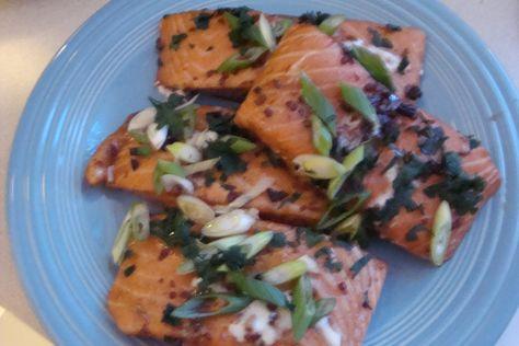 Sweet And Salty Salmon Recipe My Turkey Hollow Twilight Zone Salmon Recipes Recipes Delicious Salmon Recipes