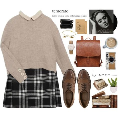 A fashion look from December 2015 by alexandra-provenzano featuring Tara Jarmon, Karl Lagerfeld, ASOS, Zadig & Voltaire, Junghans, House of Harlow 1960, Lux-Art...