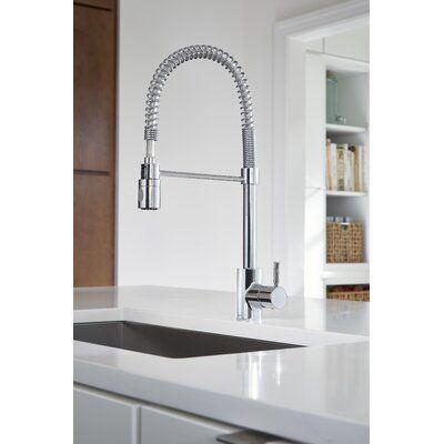 Danze Foodie Single Handle Kitchen Faucet Wayfair Single Handle Kitchen Faucet Kitchen Handles Kitchen Faucet