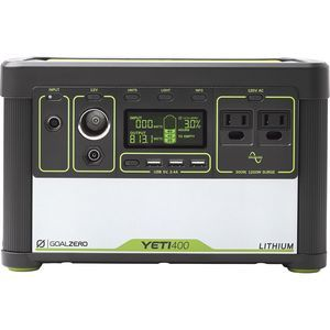Goal Zero Yeti 1250 Solar Generator Backcountry Com Solar Generator Solar Power Panels Solar Energy